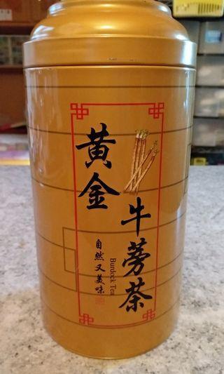 黃金牛蒡茶*( *因為試飲後不太喜歡*現半價出售*