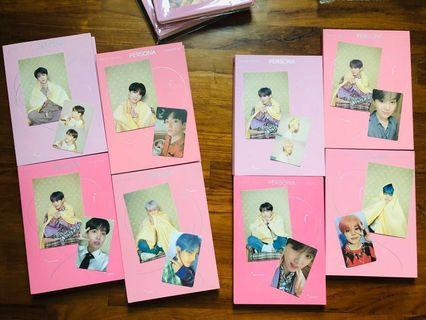 WTT/WTS bts map of the soul: persona postcards/photocards