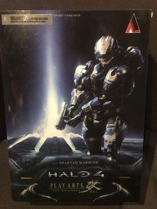 Play Arts Kai Halo 4 No.2 Spartan Warrior Action Figure Rare