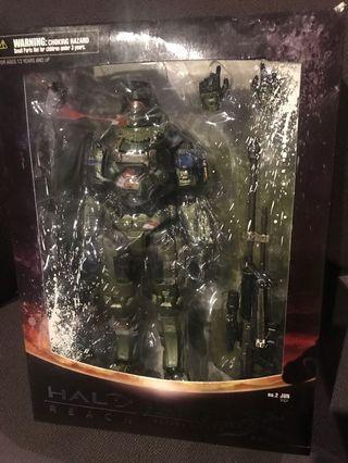 Play Arts Kai Halo Reach No.2 Jun Action Figure Rare