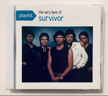 The very best of Survivor CD (Eye of the tiger)