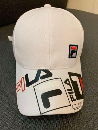 Fila logo刺繡棒球帽 (正品)