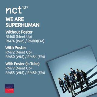 (PRE-ORDER) NCT127 - WE ARE SUPERHUMAN
