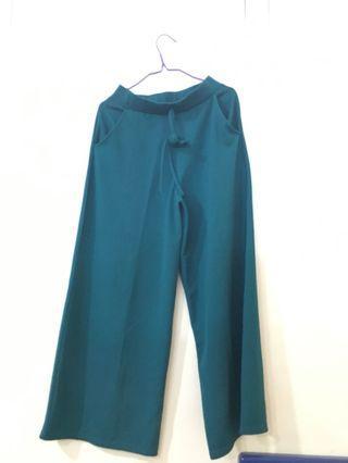 Celana Kulot Biru tosca