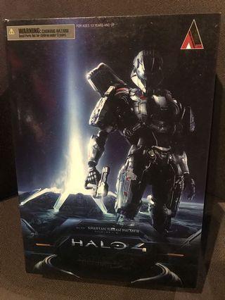 Play Arts Kai Halo 4 No.3 Spartan Sarah Palmer Action Figure Rare