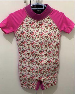 thermal swimwear for toddler girls