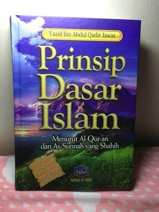 Buku prinsip dasar islam murah mulus