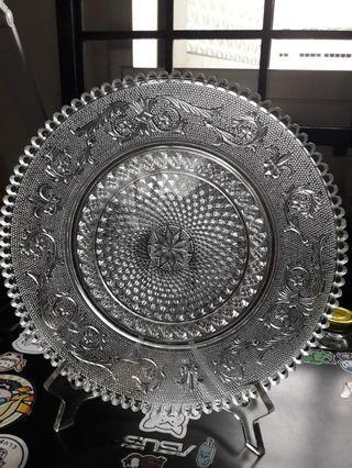 🚚 Cyrstal decorative plate