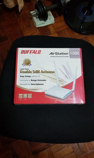 BUFFALO wifi router air station N300 extender
