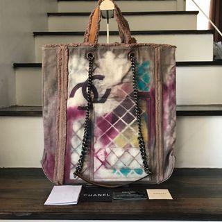 Chanel Grafitti Tote Bag