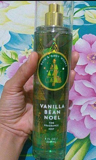 NETTTT BATH AND BODY WORKS VANILLA BEAN NOEL ,USA WINTER EDITION NEW ! BARU !!!