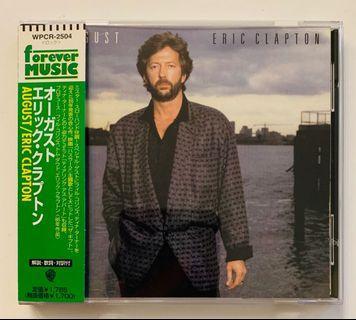 Eric Clapton - August CD