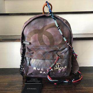 Chanel Grafitti Backpack Medium
