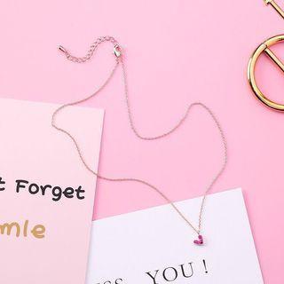 Dainty Heart Necklace from Korea