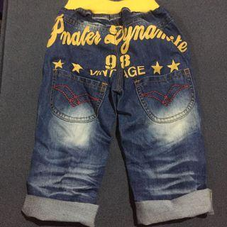 Printed Jeans for 2 years old