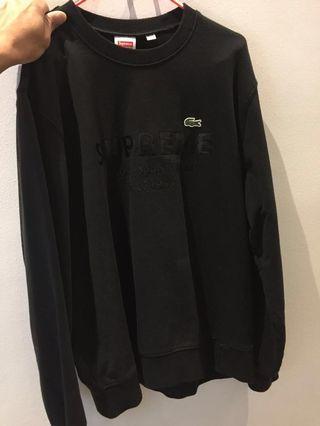 Supreme Lacoste Crewneck Sweatshirt