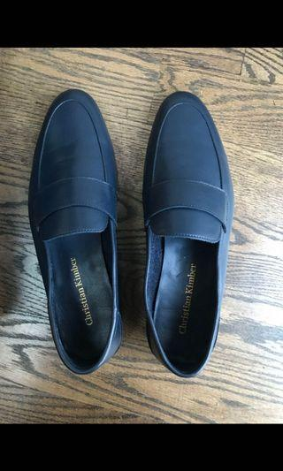 f57aa8bfb14 Christian Kimber Blacked Positano Loafers