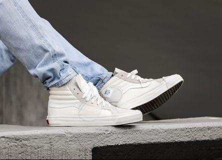 🚚 Vans Vault UA SK8-Hi Bricolage LX 高端支線 滑板鞋 白色
