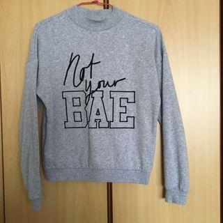 Not Your Bae Turtle Neck Pullover