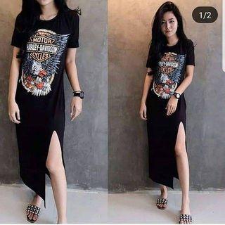 Long dress Harley free ongkir Jabodetabek