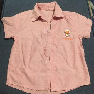 Pastel Pink Polo for 2-3 years old