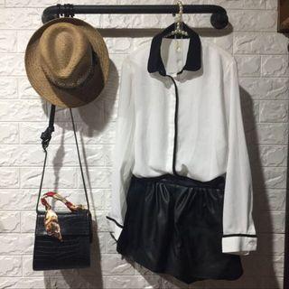 🚚 白色雪紡上衣#半價衣服拍賣會