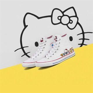[Preorder] CONVERSE x HELLO KITTY Canvas Shoes