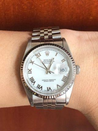 Rolex Date Just 16234 T series watch only