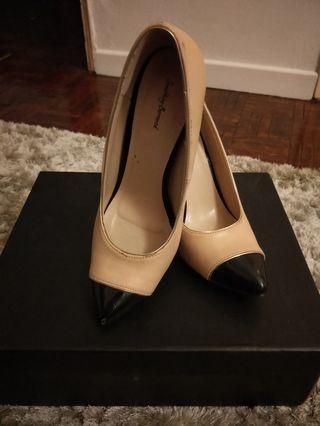 something borrowed nude heels