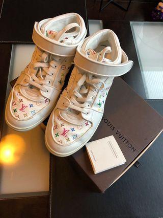 100% authentic Louis Vuitton multicolour sneakers