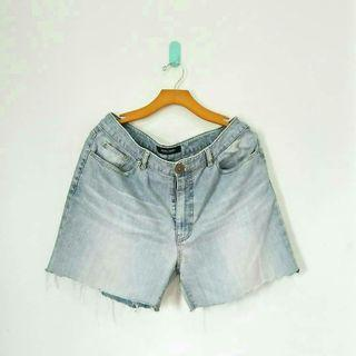 Wash Denim Hotpants