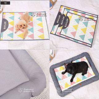 🎏Baylor冰絲涼席寵物床🐈枕邊/墊子2款可選