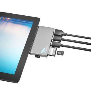OEM Microsoft Surface Pro 4/5/6 6-in-1 USB3.0 HUB, Reader & HDMI