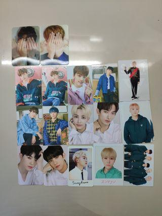 WTS seventeen photocard clearance