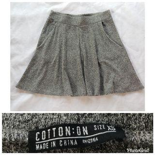 Cotton OnGrey Skirt 2304