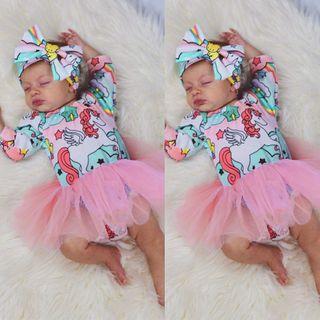 Unicorn Dress for babygirl