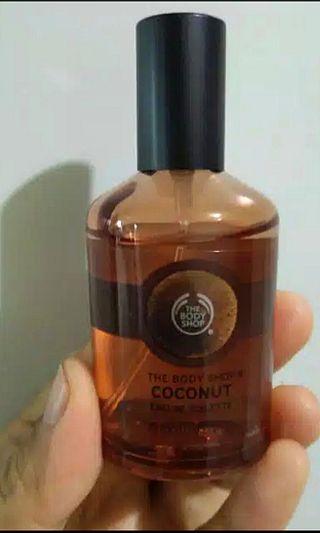 NETTTTT The Body Shop Eau De Toilette COCONUT ORIGINAL HARGA NETT!NEW BARU
