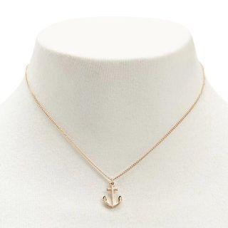 Anchor Necklace (Gold)