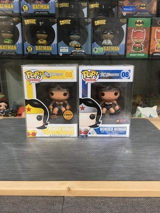 (Limited offer) Funko pop- Wonder Woman Set