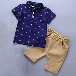 babyboy anchor design with pant