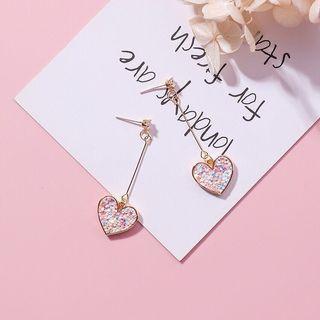 Sweet Heart Earrings from Korea