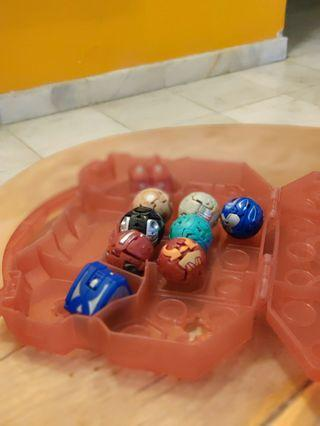 (GUNIENE)Bakugan set 9 piece