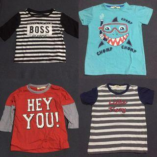 Take all Justees Shirts for 1-2 years old