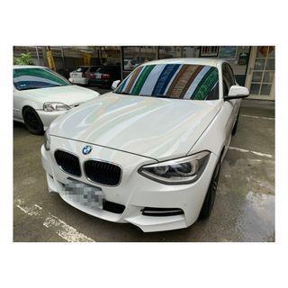 14年 BMW116i 無待修美車 貸款強力過件 低利息超低月付讓您輕鬆沒負擔 歡迎預約賞車