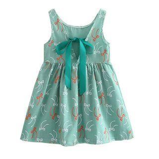 Baby Girl mint ribbon Dress