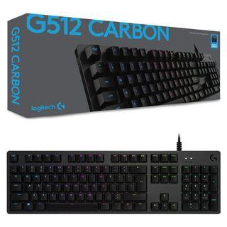 Logitech g512 keyboard mechanical tactile