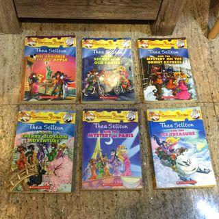 🚚 Geronimo Stilton & Thea Stilton books