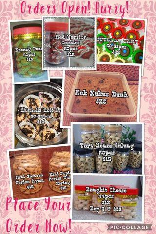 🚚 🎀!!ORDERS OPEN!! Hari Raya Cookies 2019🎀