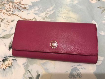 Loewe Wallet Pink
