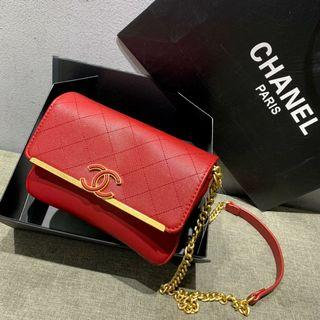 Chanel Sling Red